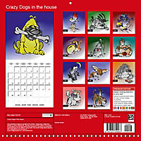 Crazy Dogs in the house (Wall Calendar 2019 300 × 300 mm Square) - Produktdetailbild 13