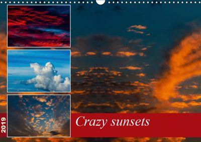 Crazy sunsets (Wall Calendar 2019 DIN A3 Landscape), Andy D.