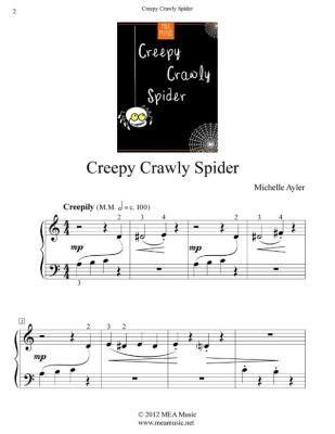 Creepy Crawly Spider, Michelle Ayler