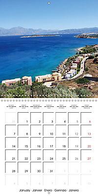 Crete - Greece (Wall Calendar 2019 300 × 300 mm Square) - Produktdetailbild 1