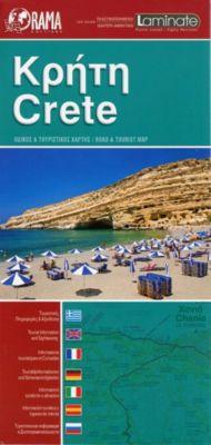 Crete laminated map1 : 220 000