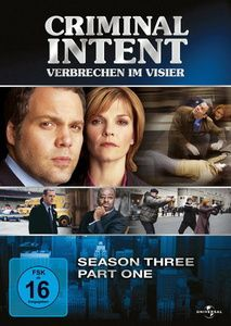 Criminal Intent - Verbrechen im Visier, Season Three, Part One, Jamey Sheridan,Kathryn Erbe Vincent D'Onofrio