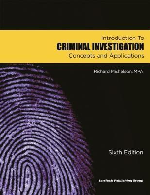 Criminal Investigation, Richard Michelson
