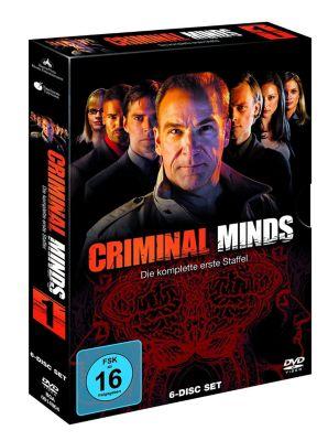 Criminal Minds - Staffel 1, Dvd-tv Serien Box