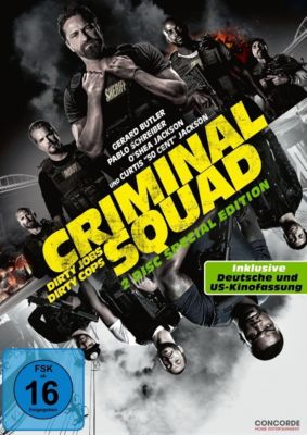 Criminal Squad - Special Edition Doppel-DVD, Criminal Squad SE 2dvd