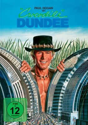 Crocodile Dundee, David Gulpilil,Paul Hogan Mark Blum