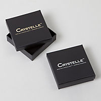 Crystelle Silber Ohrstecker 925/- Sterling Silber Swarovski Kristall - Produktdetailbild 1