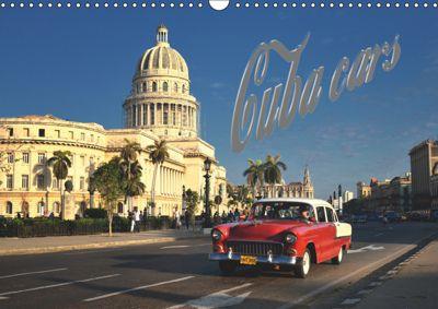Cuba Cars (UK - Version) (Wall Calendar 2019 DIN A3 Landscape), André Krajnik