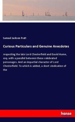Curious Particulars and Genuine Anecdotes, Samuel Jackson Pratt