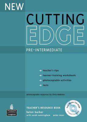 Cutting Edge, Pre-Intermediate, New edition: Teacher's Resource Book, w. Test Master CD-ROM, Sarah Cunningham, Peter Moor