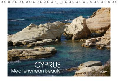 Cyprus (Wall Calendar 2019 DIN A4 Landscape), Lucy M. Laube