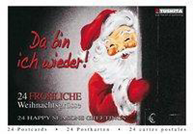 Weihnachtsgrüße Für Gäste.Da Bin Ich Wieder 24 Fröhliche Weihnachtsgrüsse Buch Weltbild Ch