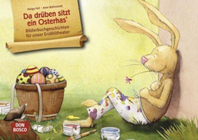 Da drüben sitzt ein Osterhas', Kamishibai Bildkartenset - Helga Fell pdf epub