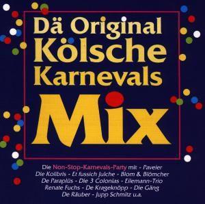 Dä Original Kölsche Karnevals-Mix, 1 Audio-CD, Diverse Interpreten