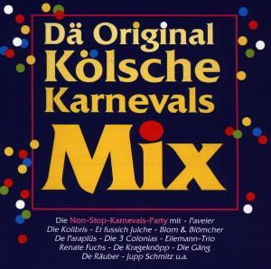 Dä Original Kölsche Karnevals-Mix, 1 Audio-CD, Diverse Interpreten