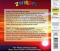 Dä Zwirbel Flügt Zum Mars-Dä Zwirbel Und Dä Bananächlauer - Produktdetailbild 1