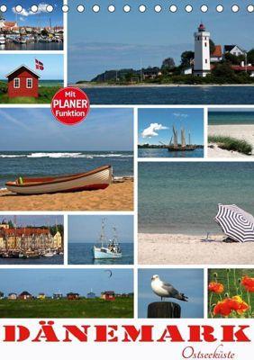 Dänemark - Ostseeküste (Tischkalender 2019 DIN A5 hoch), N N