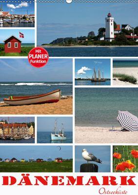Dänemark - Ostseeküste (Wandkalender 2019 DIN A2 hoch), N N