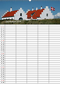 Dänemark - Ostseeküste (Wandkalender 2019 DIN A2 hoch) - Produktdetailbild 9