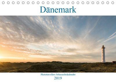 Dänemark - Phototravellers Sehnsuchtskalender (Tischkalender 2019 DIN A5 quer), Florian Westermann