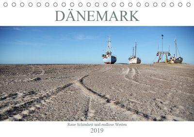 Dänemark - Raue Schönheit und unendliche Weiten (Tischkalender 2019 DIN A5 quer), Peggy Häntzschel