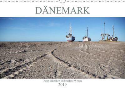 Dänemark - Raue Schönheit und unendliche Weiten (Wandkalender 2019 DIN A3 quer), Peggy Häntzschel