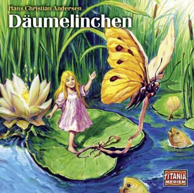 Däumelinchen, 1 Audio-CD, Hans Christian Andersen