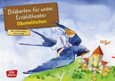 Däumelinchen. Kamishibai Bildkartenset, Hans Christian Andersen