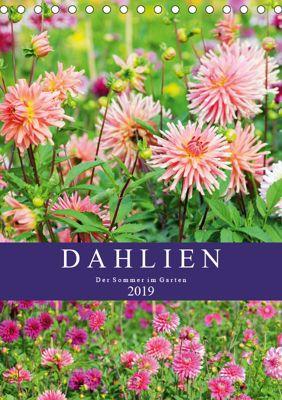 Dahlien - Der Sommer im Garten (Tischkalender 2019 DIN A5 hoch), Anja Frost