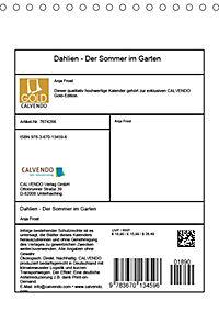 Dahlien - Der Sommer im Garten (Tischkalender 2019 DIN A5 hoch) - Produktdetailbild 13