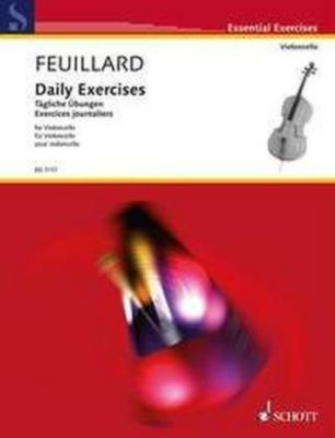 Daily Exercises / Tägliche Übungen, für Violoncello, Louis R. Feuillard