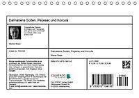 Dalmatiens Süden, Peljesac und Korcula (Tischkalender 2019 DIN A5 quer) - Produktdetailbild 13