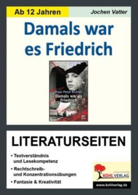 Damals war es Friedrich - Literaturseiten, Jochen Vatter
