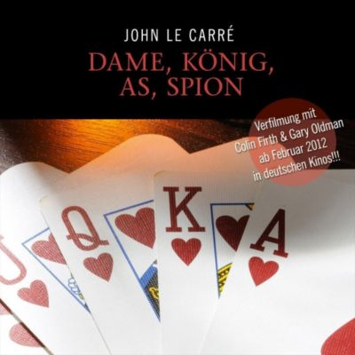 Dame, König, As, Spion, 11 Audio-CDs, John le Carré