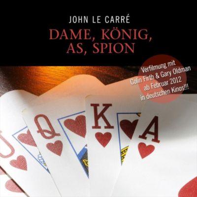 Dame, König, As, Spion, 11 Audio-CDs, John le Carré