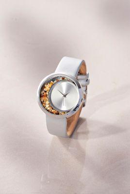 Damen Armbanduhr Bernstein