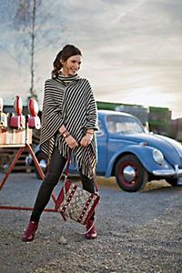 """Damen Handtasche """"Snake"""", bordeaux - Produktdetailbild 1"""