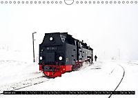 Dampf am Brocken - Die Harzquerbahn (Wandkalender 2019 DIN A4 quer) - Produktdetailbild 1