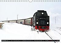 Dampf am Brocken - Die Harzquerbahn (Wandkalender 2019 DIN A4 quer) - Produktdetailbild 12