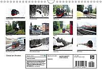 Dampf am Brocken - Die Harzquerbahn (Wandkalender 2019 DIN A4 quer) - Produktdetailbild 13