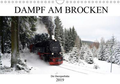 Dampf am Brocken - Die Harzquerbahn (Wandkalender 2019 DIN A4 quer), Wolfgang Gerstner