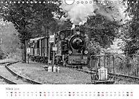 Dampflok Bieberlies in Herscheid-Hüinghausen (Wandkalender 2019 DIN A4 quer) - Produktdetailbild 3