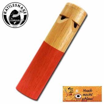 Dampflok-Pfeife, farbig sortiert, Rattlesnake®