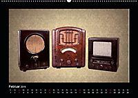 Dampfradios - Antike Radios mit Charme und Patina (Wandkalender 2019 DIN A2 quer) - Produktdetailbild 2