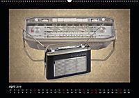 Dampfradios - Antike Radios mit Charme und Patina (Wandkalender 2019 DIN A2 quer) - Produktdetailbild 4