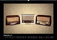 Dampfradios - Antike Radios mit Charme und Patina (Wandkalender 2019 DIN A2 quer) - Produktdetailbild 12