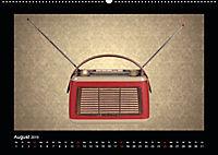 Dampfradios - Antike Radios mit Charme und Patina (Wandkalender 2019 DIN A2 quer) - Produktdetailbild 8