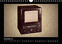 Dampfradios - Antike Radios mit Charme und Patina (Wandkalender 2019 DIN A4 quer) - Produktdetailbild 11