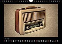Dampfradios - Antike Radios mit Charme und Patina (Wandkalender 2019 DIN A4 quer) - Produktdetailbild 5