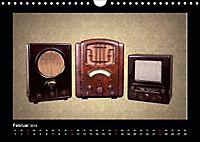 Dampfradios - Antike Radios mit Charme und Patina (Wandkalender 2019 DIN A4 quer) - Produktdetailbild 2